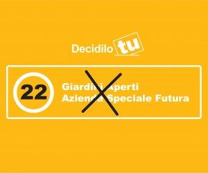 Decidilo tu 16 e 17 marzo: VOTA 22